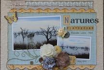 Nature photo layout ideas