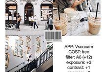 feed instagram Vs VSCO