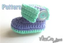 Crochet Bits-Baby Shoes -Free - 2