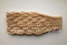 knitted headband f