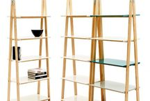 Moderne Bücherregale / Schön in Reih und Glied - moderne Regale geben Büchern ein schönes Zuhause.