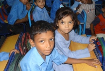 Children we help / We help over 6000 children to get an education in Pakistan so we can't possibly show all of them here! In fact 'about 23 million children in Pakistan have never been to school' (Asian Human Rights Commission)