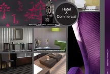 Modern Trends / Create Modern interiors with wallcoverings, fabrics, carpets and flooring for the hospitality and commercial sectors