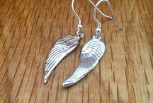 Silver Angel Wing Jewellery / Handmade silver Angel wing jewellery.