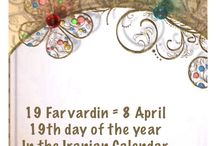 19 Farvardin = 8 April / 19th day of the year In the Iranian Calendar