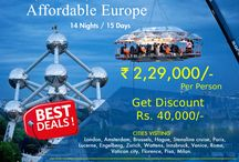 Europe Group Tours 2017 Packages