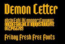 // Free Fonts //