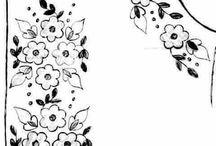 Dibujos bordado