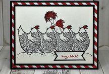 chicken cards