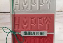 Celebrations Duo Embossing Folders Stampin Up!