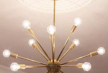 mid century furniture and lighting