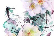weiße Blüten