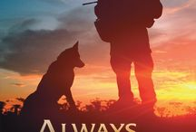 to soldier and dog thank you