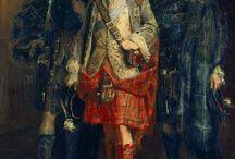 Vintage Scottish attire