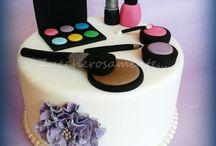 tort kosmetyczki