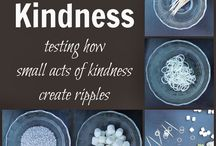 Being kind / Ripples that are carried out into others lives