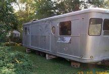 1954 camper remodel /  spartan manor