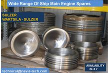 spares for Sulzer RTA engines,Navis-Tech is suppliers of spares for Sulzer RTA Engines