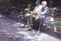 Burton Silverman / Burton Silverman (born 1928) is an American painter.