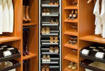 Closet Storage Ideas / Get inspiration for your Dream Closet here!