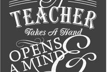 Teacher Appreciation / by Michelle Bourgault