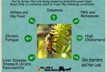 Royal Jelly / Royal jelly is an amazing hive product with many nutritious and therapeutic values.