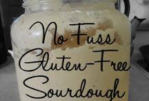 Gluten free bread, crackers and stuff