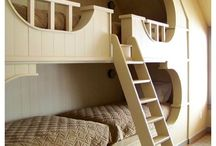 bunkbeds / bunkbed inspiration - ideas for 3 or more boys to sleep in one room / by Lauren Farley