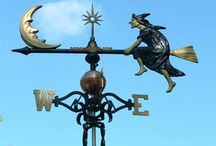 Lightning Rods & Weather Vanes / by Joan Woodin