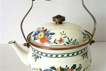 Teapots and Cups-Saucers / by Blanche Powell Littlefield Thompson