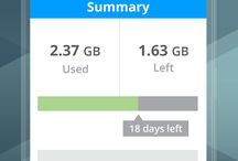 MY DATA MANAGER -DATA USAGE SCREENSHOT