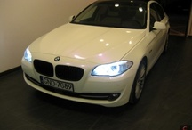 BMW 5 - indygo pearl