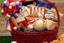 Baseball Auction Basket