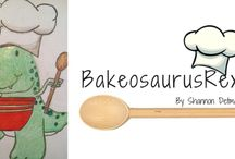 Bakeosaurus Rex / Bakeosaurus Rex creates sugar cookies that are works of art! They are almost too pretty to eat!