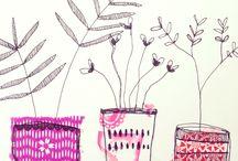 art et végétal