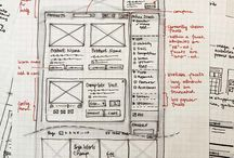Inspiration: Sketching and wireframes / Inspirational sketch ideas in the areas of UX, IxD, HCI, UI, and IA.