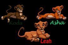 Kovu and Kiara cubs