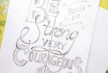 Bible Journaling- {Joshua / by Lindsey Z.