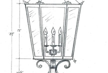 Custom Light Fixture Designs / Mike Elkins, our resident lighting expert, designs custom light fixtures to customer specifications. Check out some of his latest designs!