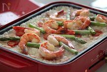 ホットプレートで作る料理レシピ