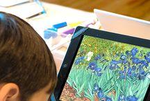 Technology in Art Class / Art Clasd