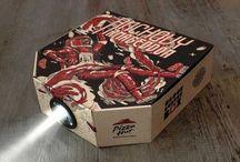 Cardboard engineering / Thinking outside of the box - innovative design using the versatile medium of cardboard.