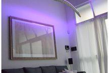 BOIS DE MER design by marco casolino / Lampada a sospensione ricavata da un tronco lavorato dal mare. Grazie alla tecnologia led RGB e alla connessione WIFI è possibile gestire il tono del colore e l'intensità della luce dal proprio smatphone.