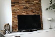 Teakea | Houtstrips - Plakhout - Wallcladding / Een verzameling inspratiefoto's van hoe onze klanten plakhout hebben gebruikt in hun interieur.