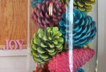 Новый год New Year Christmas / Шишки Новый год Рождество праздник  cones new year Christmas  holiday