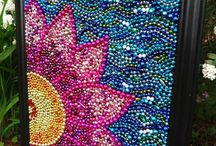 Scout's Mardi Gras Bead Art Ideas