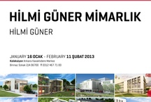 Koleksiyon / SMD Mimari Proje Sergileri | Architectural Exhibitions