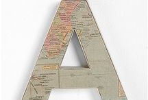 map decor / by Kelly Ratcliff