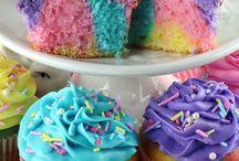 Unicorn desserts
