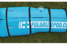 Polar Life Pod® / The patent pending Polar Life Pod™ is an innovative new portable, collapsible immersion system to assist in rapid cooling of athletes.